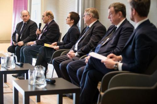 2019_02_26 Panel dyskusyjny: Perspektywy współpracy przedsiębiorstw i uczelni ...